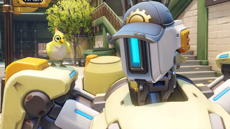 Bastion Will Have Be Reworked And Have A Different Look In OVERWATCH 2