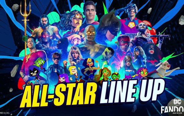 The DC FanDome Talent Line-Up Has Been Announced