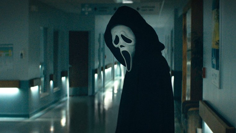 Poster and Photos Released for SCREAM Feature Ghostface and the Full Cast