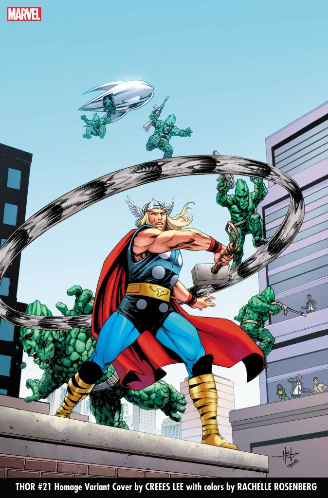 THOR2020021 Creees Lee homagecover
