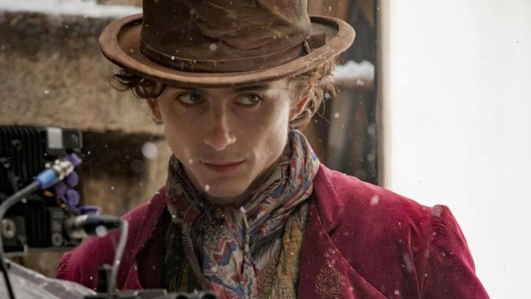 First Look at Timothée Chalamet as Willy Wonka in WONKA