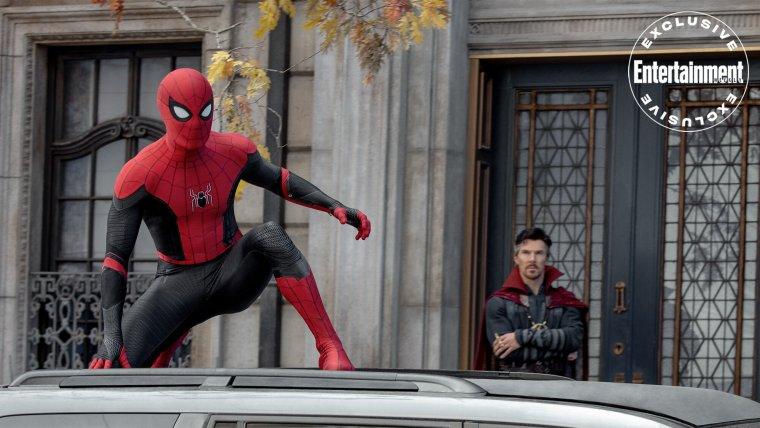 new spider man no way home photos and tom holland says its the end of the homecoming trilogy1