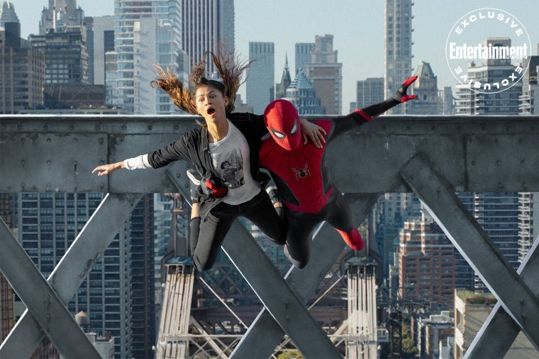 new spider man no way home photos and tom holland says its the end of the homecoming trilogy2