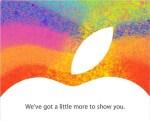 iPad miniなどが23日に発表されそう!