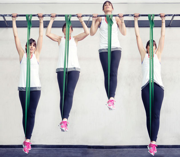 Band-Assisted-Pull-up