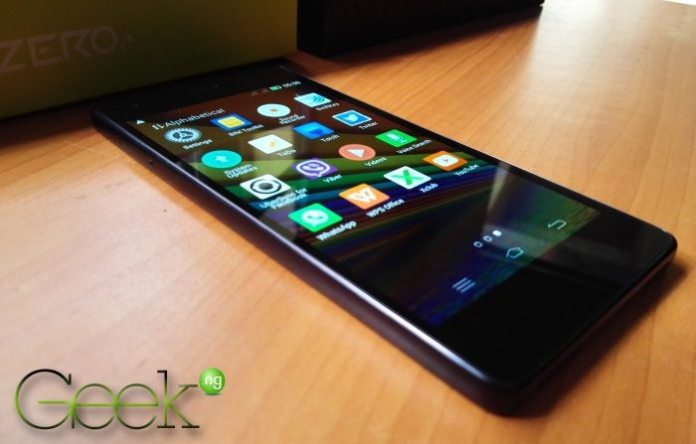 Infinix Zero 2 - app drawer