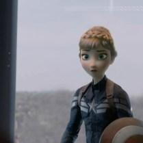 Captain America Frozen soldier - 01