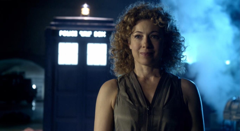 River Song ha lasciato la biblioteca ma forse non Doctor Who