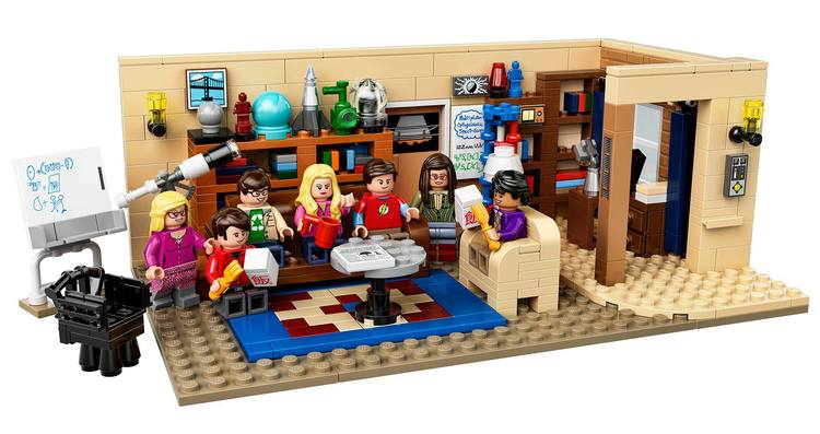 Lego: il set di The Big Bang Theory