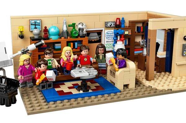 Lego: il set di The Big Bang Theory