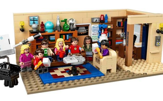Lego TBBT copertina