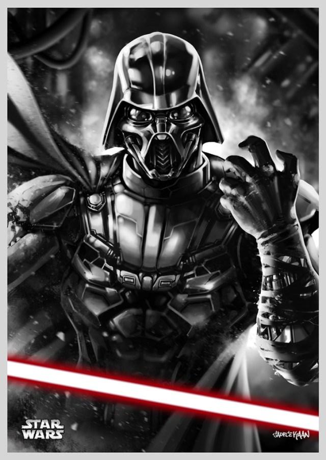 Darth Vader reimagined