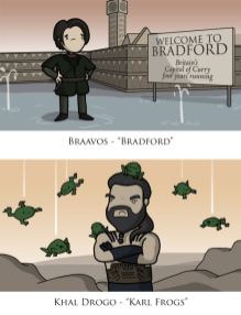 Game of Thrones Autocorrect - Braavos