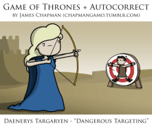 Game of Thrones Autocorrect - Daenerys
