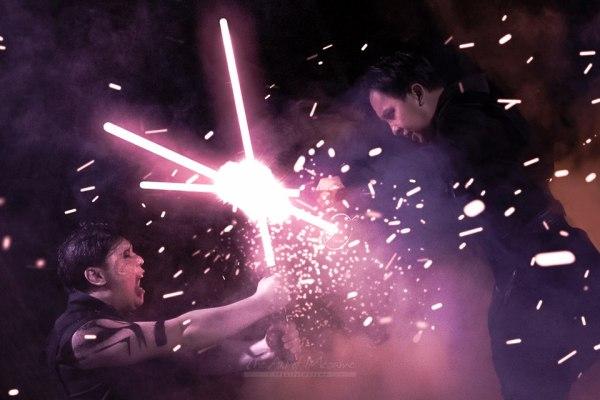 Le spettacolari foto di un matrimonio a tema Star Wars