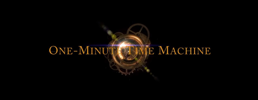 Il corto: One-Minute Time Machine