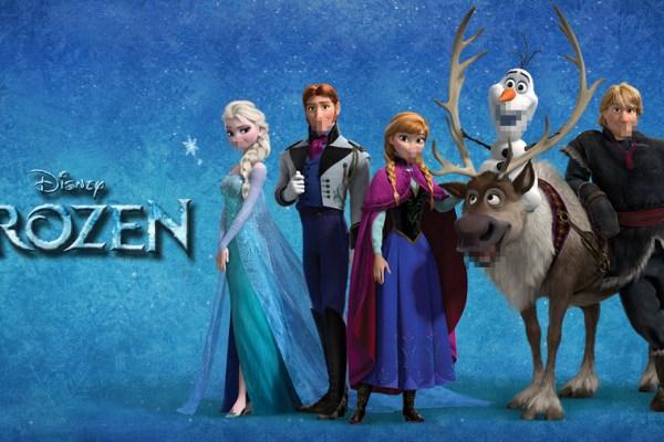 Frozen… censurato (senza motivo)