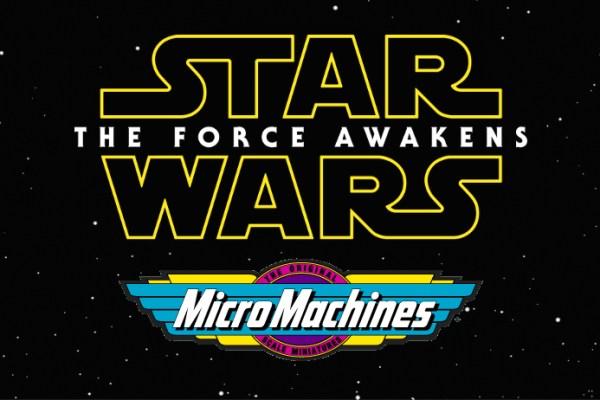 Star Wars: Il risveglio della Forza e il ritorno delle Micromachines