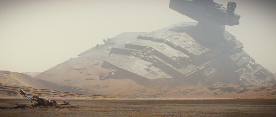 Star Wars: il primo video a 360° di Facebook vi permette di fare un giro su Jakku