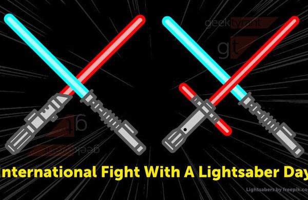 Giornata internazionale del combattimento con la spada laser