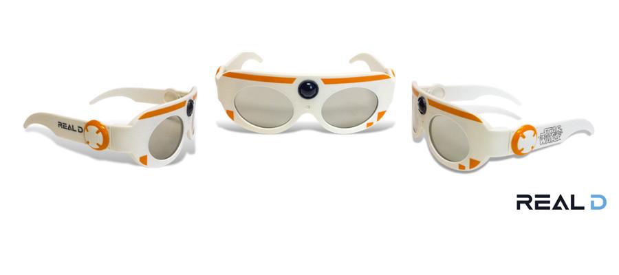 Gli occhiali 3D di Star Wars: Il risveglio della Forza