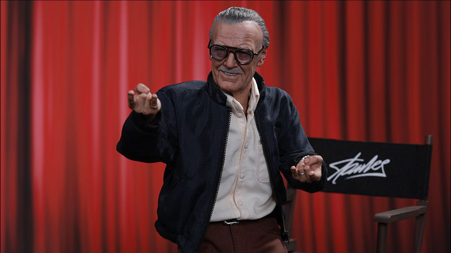 Hot Toys rivela l'action figure di Stan Lee