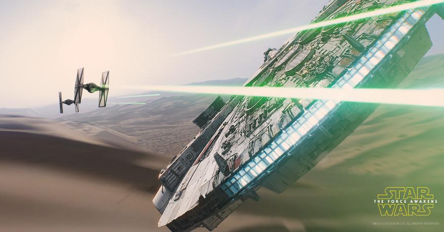 La magia rivelata – Gli effetti visivi di Star Wars: Il risveglio della Forza