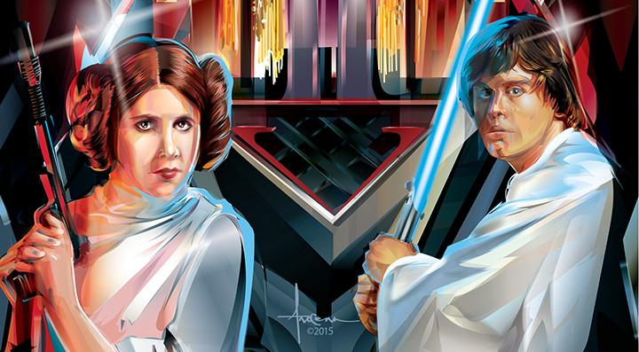 L'arte vettoriale di Orlando Arocena colpisce ancora in attesa del nuovo Star Wars