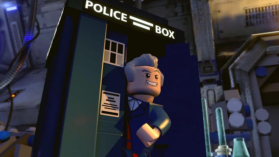 Doctor Who in Lego Movie 2?