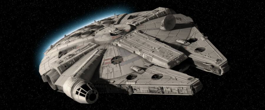 Il video: il Millenium Falcon di pan di zenzero