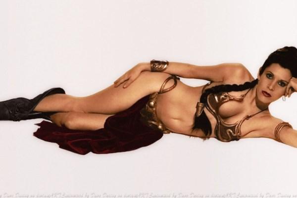 Star Wars: Disney elimina per sempre il bikini dorato da schiava di Leia?