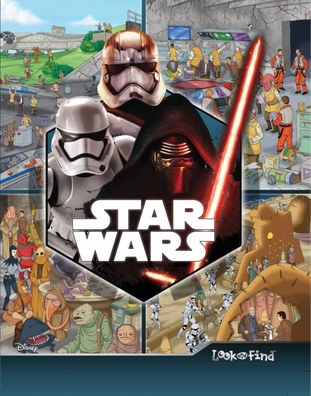 Star Wars Look and Find