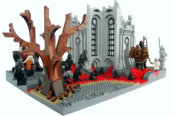 I gironi dell'inferno visti tramite i Lego