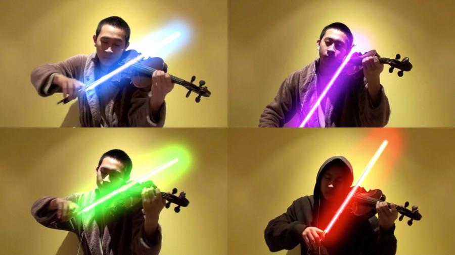Star Wars, un tema per violino e spada laser