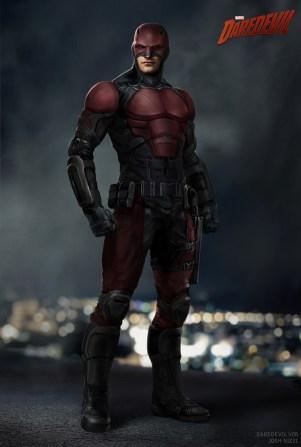 Daredevil s2 prototipo costume B