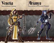 Dungeon Saga Venetia Arianya