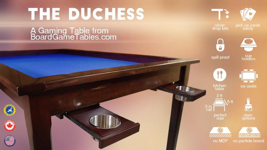 """The Duchess, un tavolo da gioco """"economico"""" su Kickstarter"""