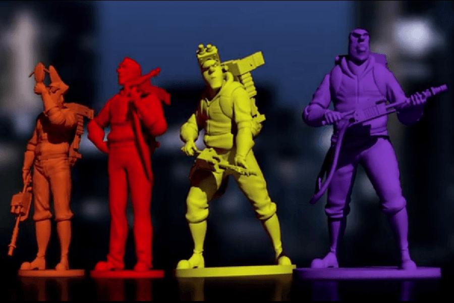 Ghostbusters gioco da tavolo miniature