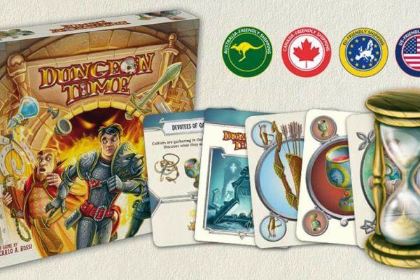 Lo spacciagiochi: Dungeon Time su Kickstarter