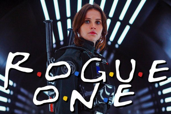Il trailer di Rogue One: A Star Wars Story incontra Friends