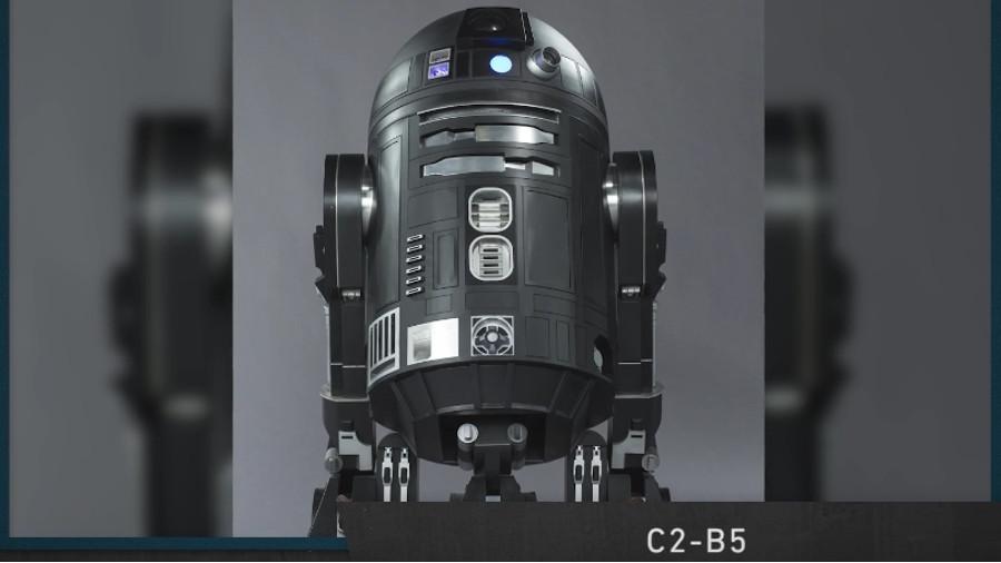 C2-B5, rivelato un nuovo droide di Rogue One