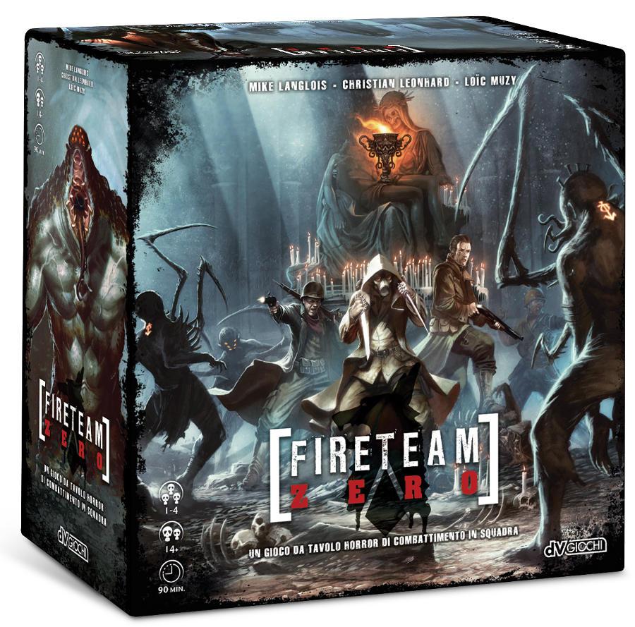 FireTeam Zero scatola