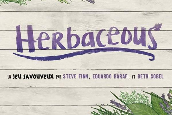 Lo spacciagiochi: Herbaceous