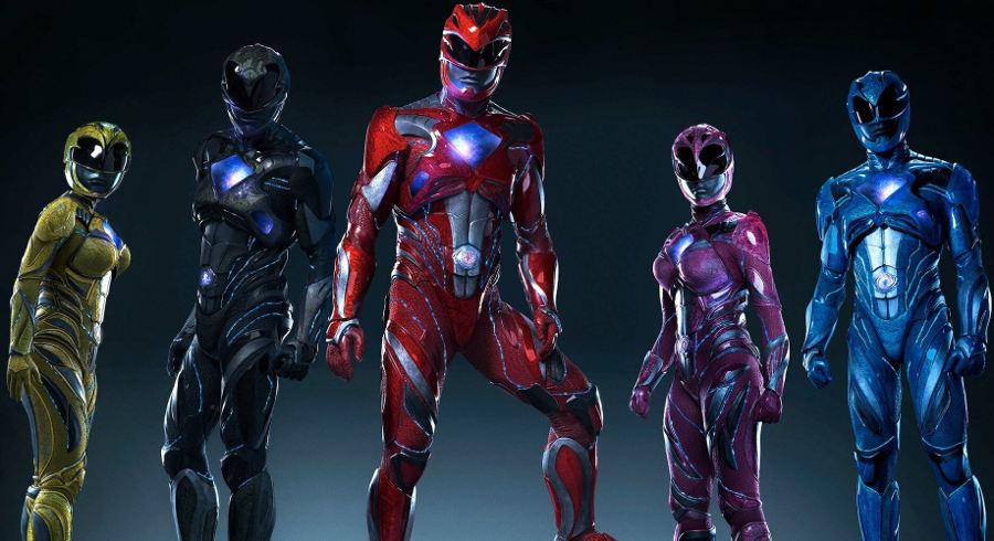 Power Rangers: nei nuovi poster i protagonisti posano sui loro Zord
