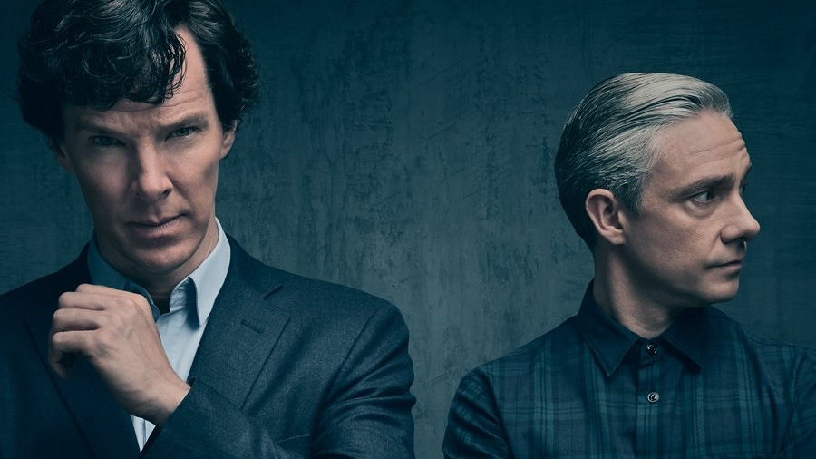Sherlock: Cumberbatch e Freeman di tutto punto per la quarta stagione