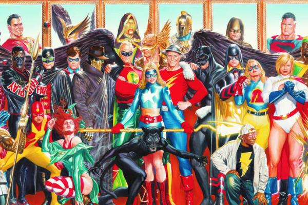 The CW ci presenta la Justice Society of America!
