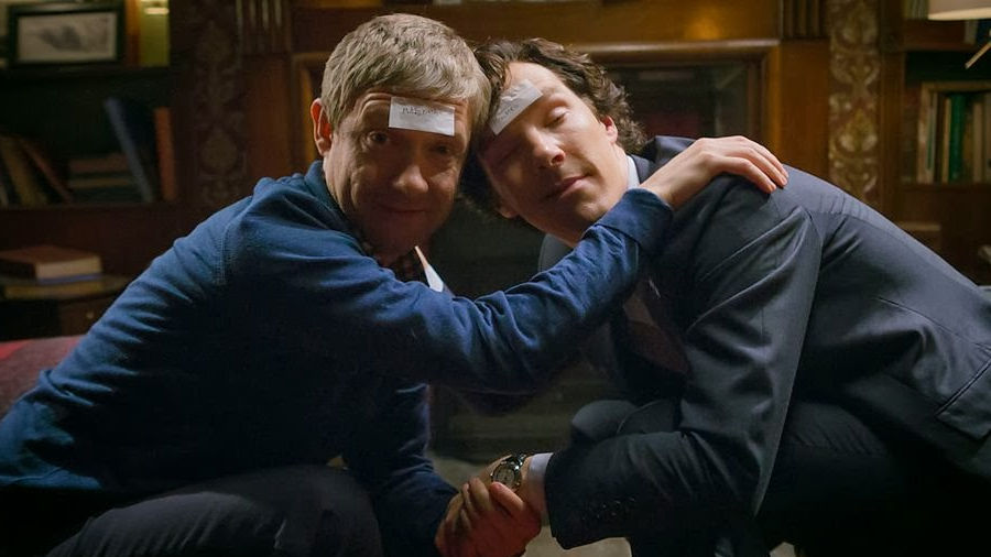 Sherlock-Watson: un'amicizia che dura tre stagioni in un unico video