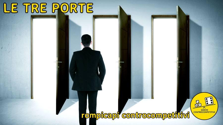 Rompicapi controcompetitivi – Le tre porte