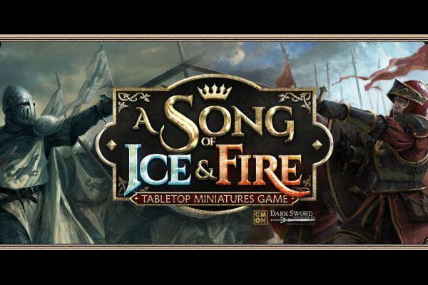 CMON annuncia il gioco di miniature de Le cronache del ghiaccio e del fuoco.