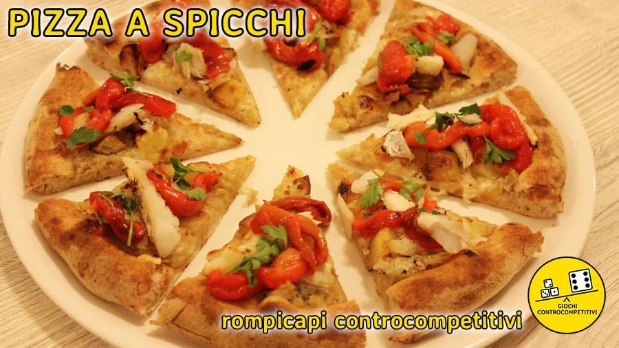 Rompicapi controcompetitivi: Pizze a spicchi